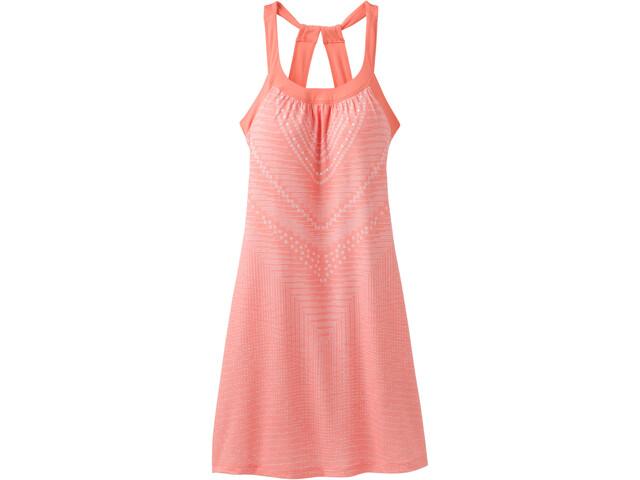 Prana Cantine Dress Dam peach synergy